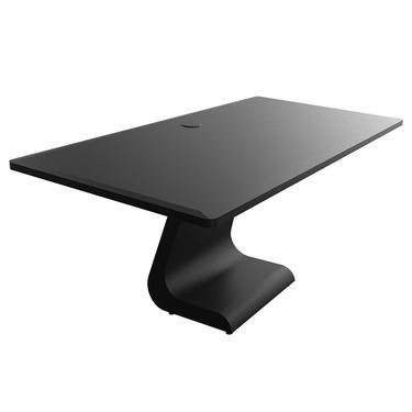 Medium idesk plain black matte 0e9bcca0ec