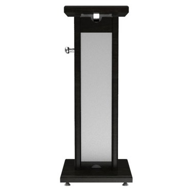 Medium monitor stand black grey single df78634343