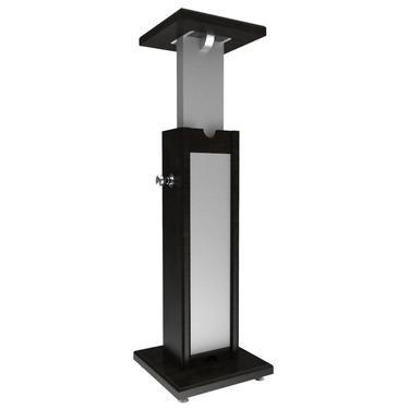 Medium monitor stand black grey single 47456db4a9